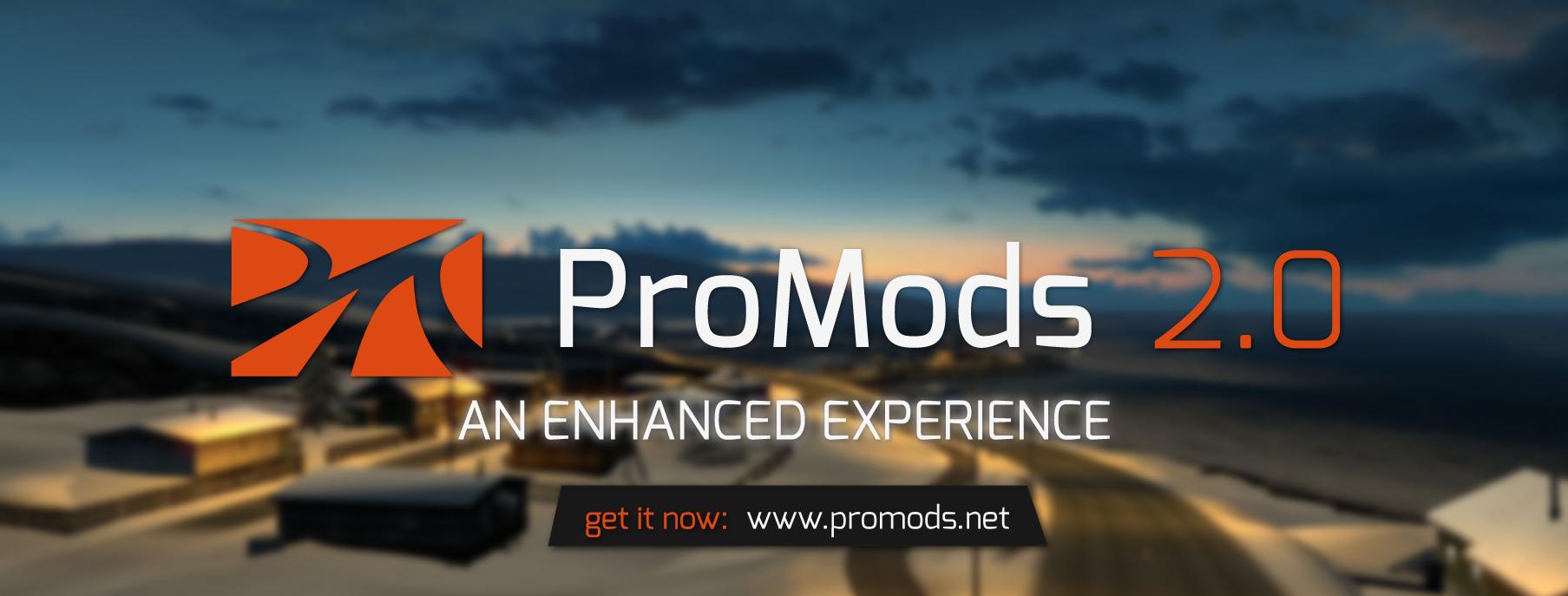 ETS2 - ProMods 2.0