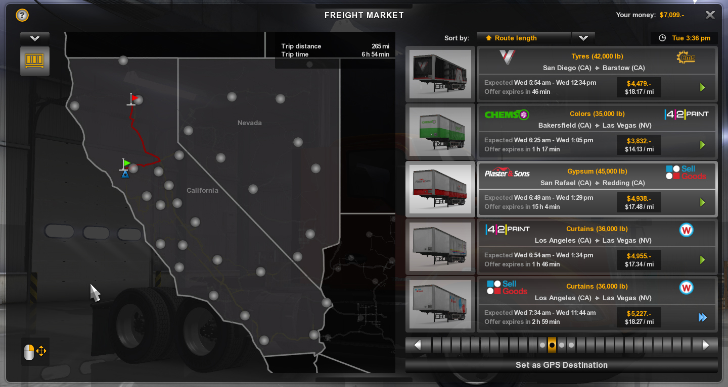 American Truck Simulator Map - SCS Software