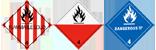 ADR Brandbare vaste stoffen