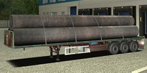 Flat Bed Large Tubes