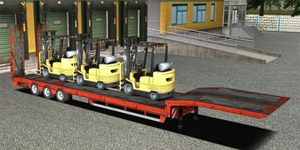 Overweight Forklifts